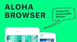 Aloha free vpn for iOS