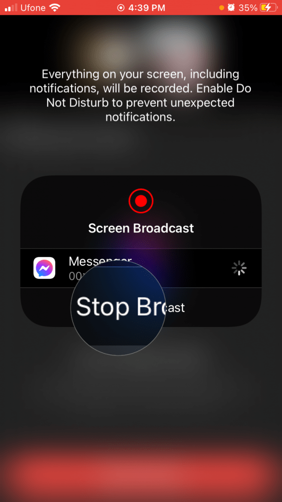 Start Broadcast Facebook Messenger