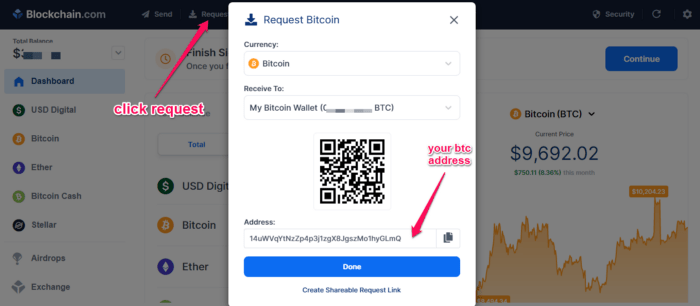 blockchain website buy bitcoin