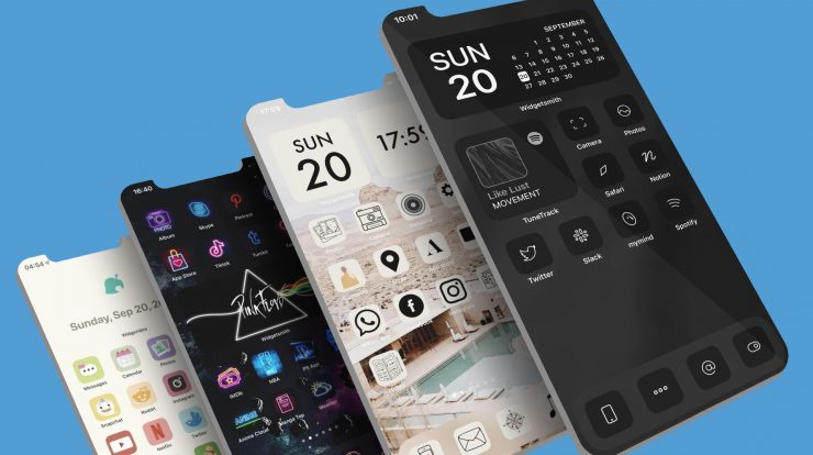 iPhone homescreen ideas for inspiration 740x414 1