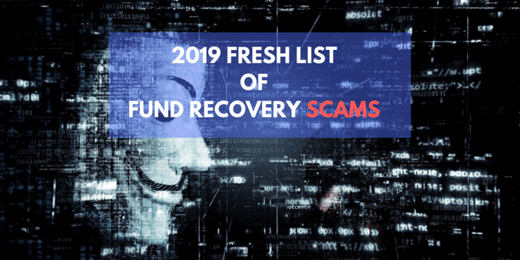 2021 asset recovery scam list