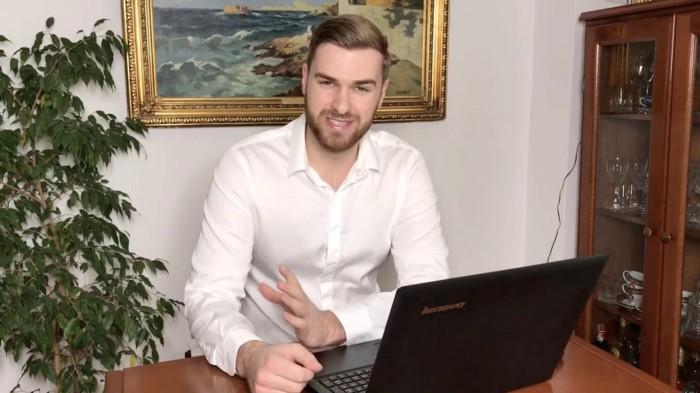 Ryan Baines fake softradeai founder
