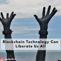 blockchain can liberate us all